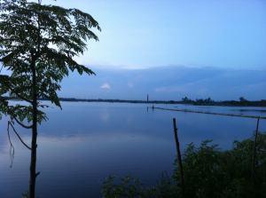Rainy season, Noyatola Saidpur. বর্ষাকালে নয়াটোলা, সৈয়দপুর।